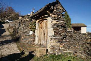 old gate in Chadenet
