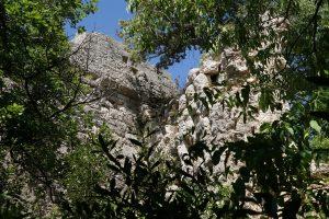 ruins of Montredon castle