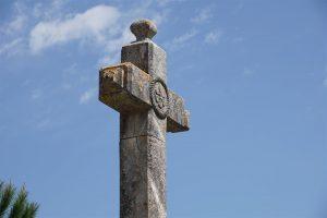 croix de pierre : Auzon