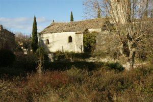 église en ruine : Belvezet