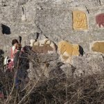 rock carvings/rochers sculptés