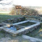 public wash basin, Gattigues,lavoir de Gattigues